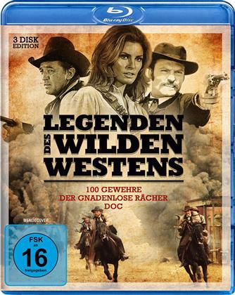 Legenden des Wilden Westens 2 - 100 Gewehre / Lawman / Der gnadenlose Rächer (3 Blu-rays)