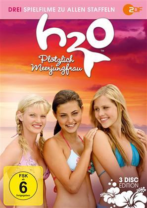 H20 - Plötzlich Meerjungfrau - Die Spielfilme zu allen Staffeln (3 DVDs)