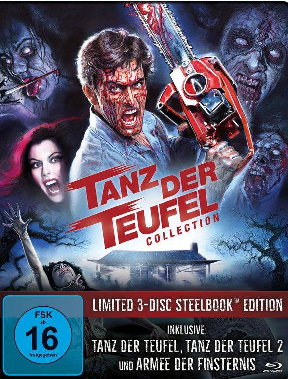 Tanz der Teufel Collection (Limited Edition, Steelbook, 3 Blu-rays)