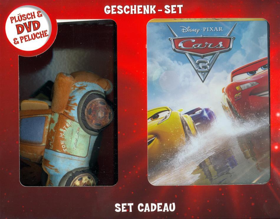 Cars 3 - Set Cadeau (2017) (+ Plüschtier, Box, Limited Edition)