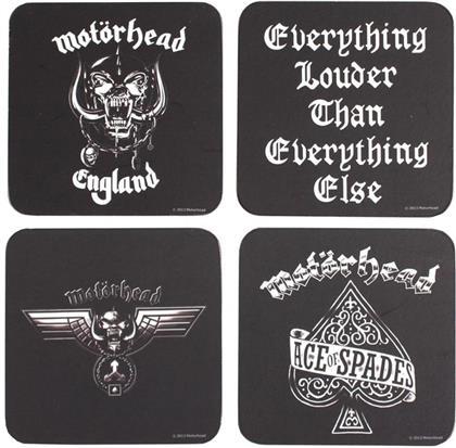 Motorhead Untersetzer - (4 Pack)