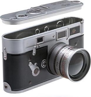 "Vintage Audio - Blechdose ""Camera"""