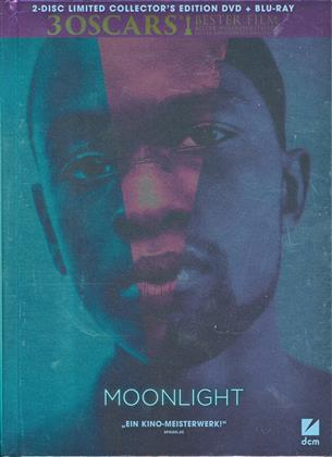 Moonlight (2016) (Limited Collector's Edition, Mediabook, Blu-ray + DVD)