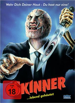 Skinner (1991) (Cover A, Limited Edition, Mediabook, Uncut, Blu-ray + DVD)