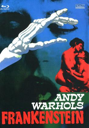 Andy Warhols Frankenstein (1973) (Cover A, Limited Edition, Mediabook, Uncut, Blu-ray + DVD)