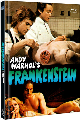 Andy Warhol's Frankenstein (1973) (Cover B, Limited Edition, Mediabook, Uncut, Blu-ray + DVD)