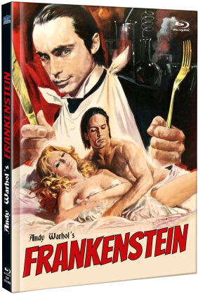 Andy Warhol's Frankenstein (1973) (Cover C, Limited Edition, Mediabook, Uncut, Blu-ray + DVD)