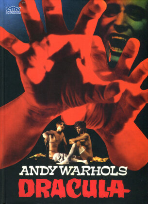 Andy Warhols Dracula (1974) (Cover A, Limited Edition, Mediabook, Uncut, Blu-ray + DVD)