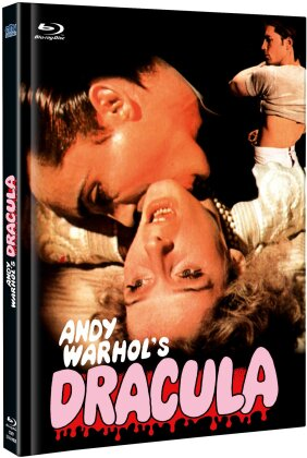 Andy Warhol's Dracula (1974) (Cover B, Limited Edition, Mediabook, Uncut, Blu-ray + DVD)