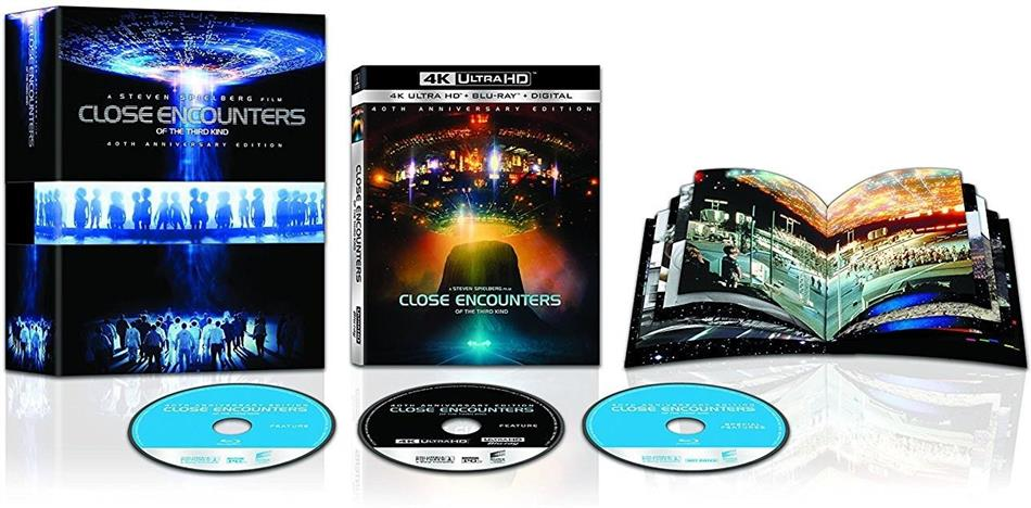 Close Encounters Of The Third Kind (1977) (Gift Set, 4K Ultra HD + 2 Blu-rays)