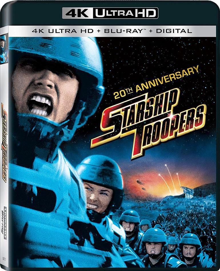 Starship Troopers (1997) (20th Anniversary Edition, 4K Ultra HD + Blu-ray)
