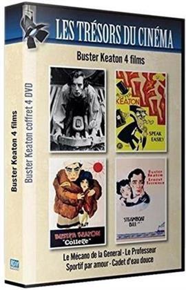 Buster Keaton (Les Trésors du Cinéma , Box, s/w, 4 DVDs)