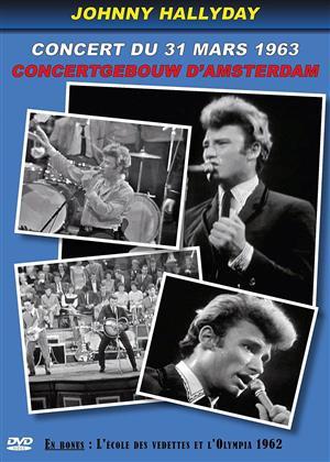 Johnny Hallyday - Concertgebouw d'Amsterdam - Concert du 31 mars 1963 (s/w)