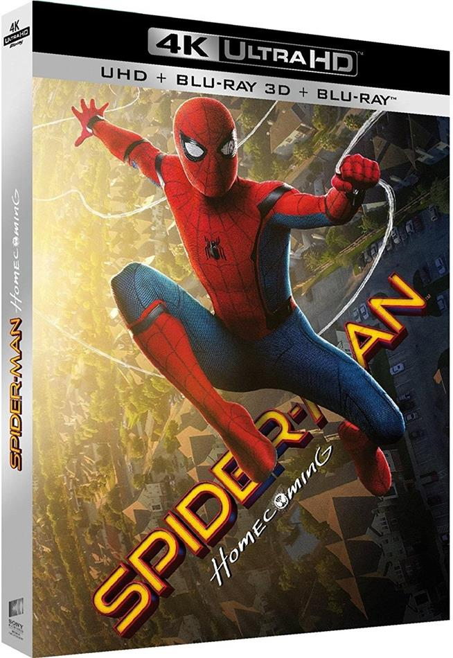 Spider-Man: Homecoming (2017) (4K Ultra HD + Blu-ray 3D + Blu-ray)