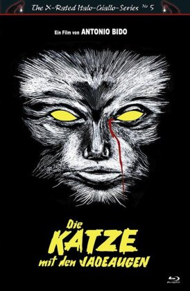 Die Katze mit den Jadeaugen (1977) (Cover B, Grosse Hartbox, The X-Rated Italo-Giallo-Series)