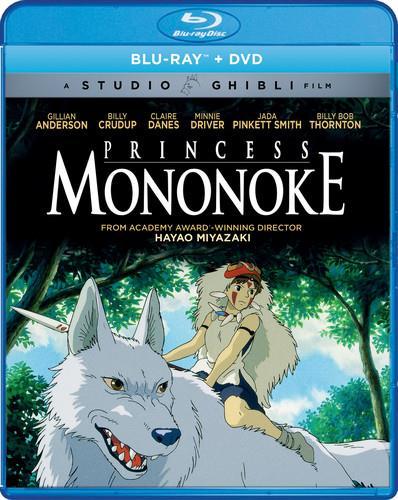 Princess Mononoke (1997) (Blu-ray + DVD)