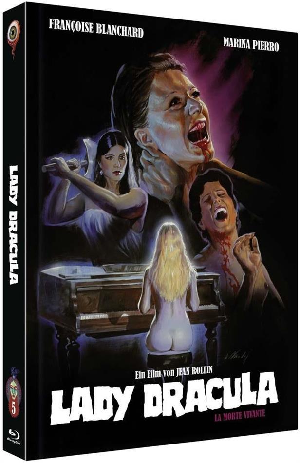 Lady Dracula - La Morte Vivante (1982) (Cover B, Collector's Edition, Limited Edition, Mediabook, Restaurierte Fassung, Uncut, Blu-ray + DVD)
