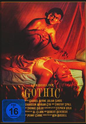 Gothic (1986) (Cover A, Collector's Edition, Limited Edition, Mediabook, DVD + CD-ROM)
