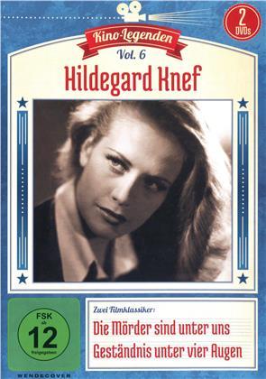 Kino Legenden - Vol. 6: Hildegard Knef - Die Mörder sind unter uns / Geständnis unter vier Augen (2 DVDs)