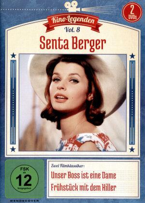 Kino Legenden - Vol. 8: Senta Berger - Unser Boss ist eine Dame / Frühstück mit dem Killer (2 DVDs)