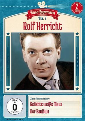 Kino Legenden - Vol. 1: Rolf Herricht - Geliebte weisse Maus / Der Baulöwe (2 DVDs)