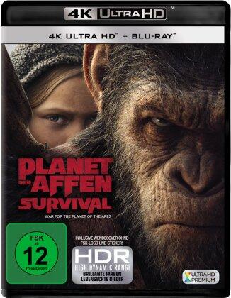 Planet der Affen: Survival (2017) (4K Ultra HD + Blu-ray)