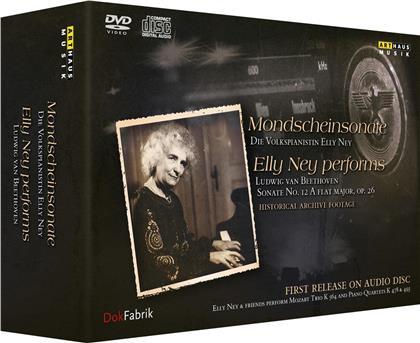 Elly Ney - Mondscheinsonate (Arthaus Musik, 3 DVDs + 2 CDs)