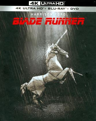 Blade Runner (1982) (Final Cut, 35th Anniversary Edition, Collector's Edition, Limited Edition, 4K Ultra HD + 2 Blu-rays + DVD)