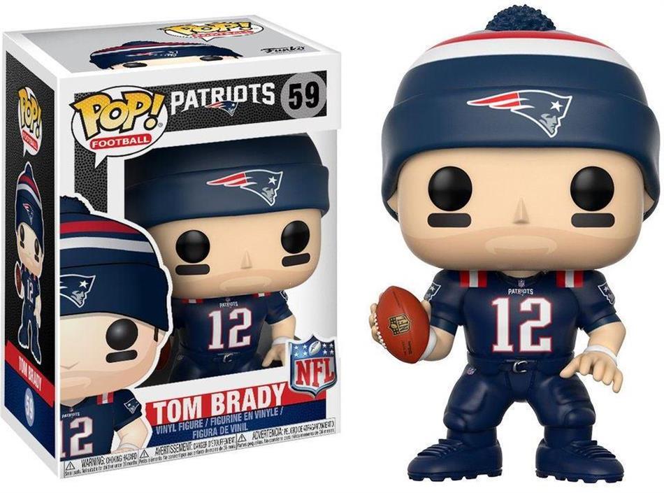 NFL: Tom Brady (New England Patriots) POP! 59 - Vinyl Figur