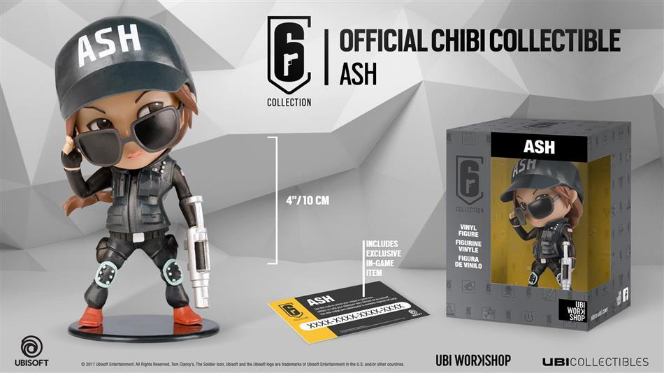 Rainbow Six Siege Collection - Ash Figure