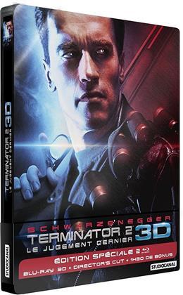 Terminator 2 - Le jugement dernier (1991) (Limited Edition, Steelbook, Blu-ray 3D + Blu-ray)