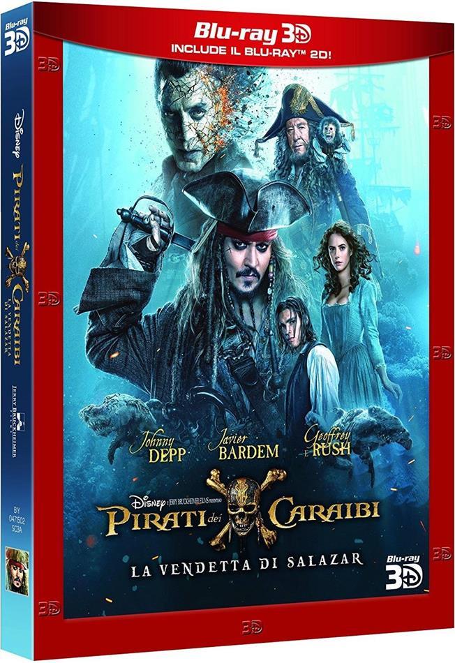 Pirati dei Caraibi 5 - La vendetta di Salazar (2017) (Blu-ray 3D + Blu-ray)