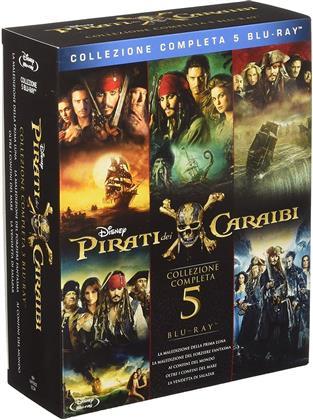 Pirati dei Caraibi 1-5 - Collezione Completa (5 Blu-ray)
