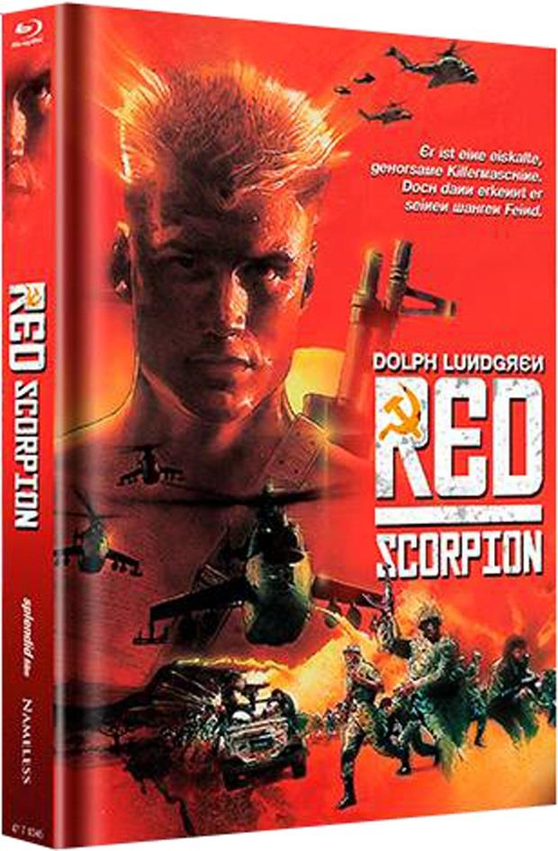 Red Scorpion (1988) (Limited Edition, Mediabook, Uncut, Unrated)