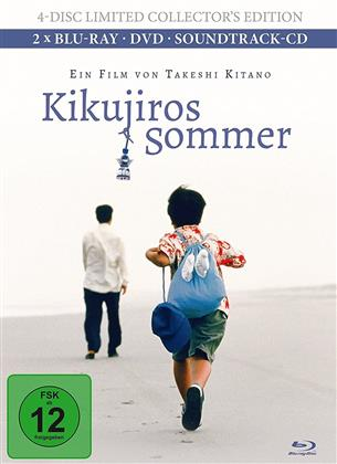 Kikujiros Sommer (1999) (Collector's Edition, Limited Edition, Mediabook, 2 Blu-rays + DVD + CD)