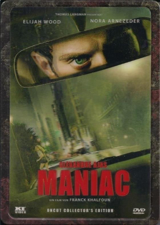 Maniac (2012) (Collector's Edition, Steelbook, Uncut)