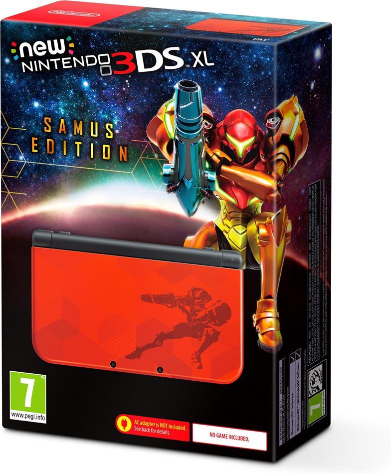 NEW Nintendo 3DS XL Samus Edition (ohne Netzteil)