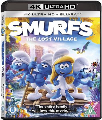 Smurfs - The Lost Village (2017) (4K Ultra HD + Blu-ray)