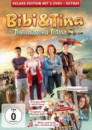 Bibi & Tina 4 - Tohuwabohu Total (2017) (Deluxe Edition, 2 DVD)