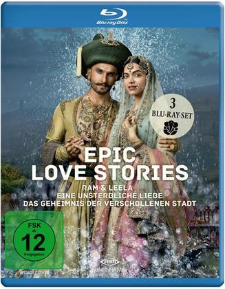 Epic Love Stories - 3 Spielfilme Box (3 Blu-ray)