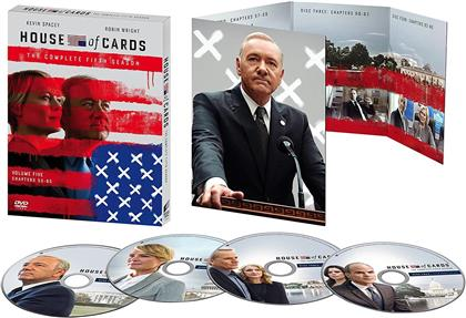 House Of Cards - Season 5 (4 DVDs)