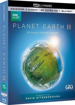 Planet Earth II (2016) (BBC Earth, Special Edition, 2 4K Ultra HDs + 2 Blu-rays)