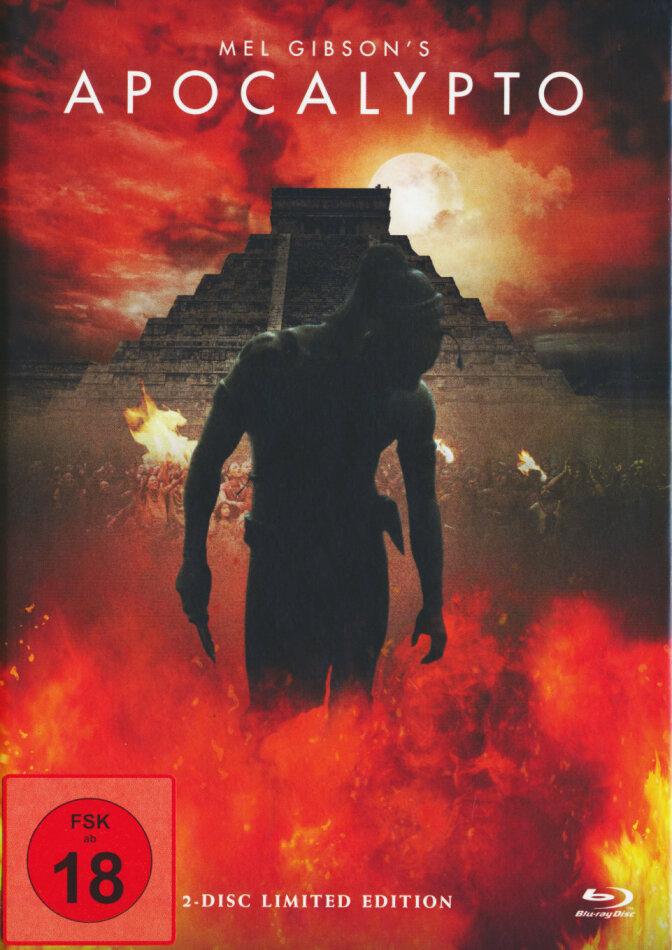 Apocalypto (2006) (Cover B, Limited Edition, Mediabook, Uncut, Blu-ray + DVD)