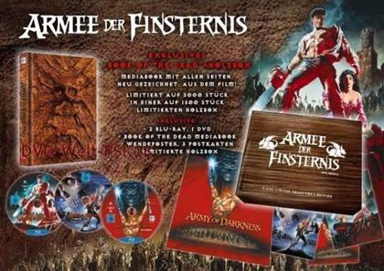 Armee der Finsternis (1992) (TV-Fassung, Collector's Edition, Director's Cut, Versione Cinema, Edizione Limitata, Mediabook, Wooden Box, 2 Blu-ray + DVD)