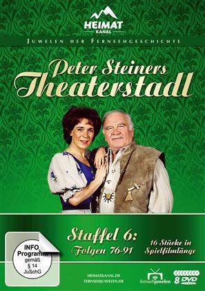 Peter Steiners Theaterstadl - Staffel 6 (Fernsehjuwelen, 8 DVDs)