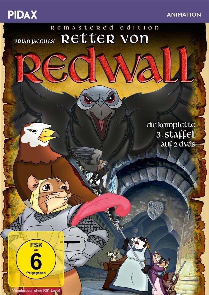 Retter von Redwall - Staffel 3 - Finale Staffel (Pidax Animation, Remastered, 2 DVDs)