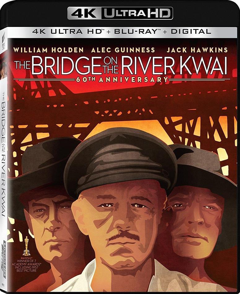 The Bridge On The River Kwai (1957) (60th Anniversary Edition, 4K Ultra HD + Blu-ray)