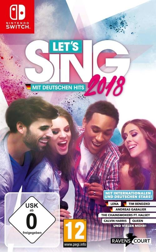 Let's Sing 2018 mit Deutschen Hits