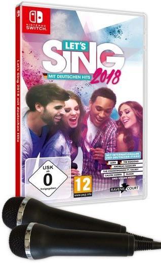 Let's Sing 2018 mit Deutschen Hits + 2 Mics