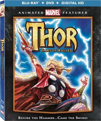 Thor - Tales Of Asgard (2011) (Blu-ray + DVD)